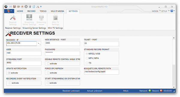 StreamMeNG HD 2.4.3 Beta 3618 06.05.15-29-6-15-offpc-streamme-receiversettings.png