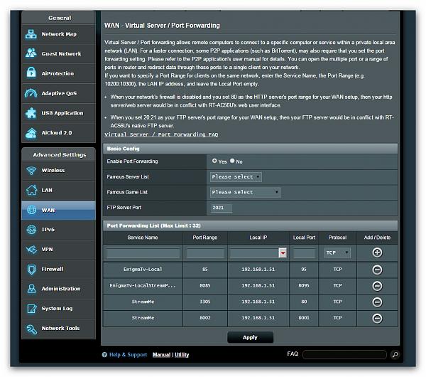 StreamMeNG HD 2.4.3 Beta 3618 06.05.15-7-7-15-homepc-port-forward-list.png