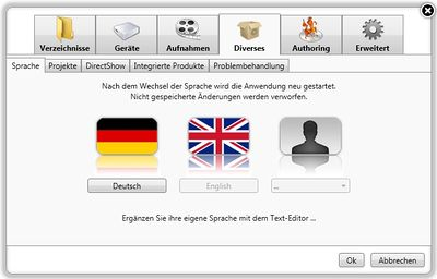 DVR-Studio HD3 use in 40 different languages-400px-einstellung_sprache.jpg