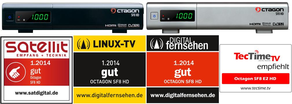 STARK REDUZIERT: OCTAGON SF8 E2 HD (schwarz / silber)-octagon_sf8-e2-hd_awards.jpg