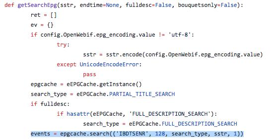 Epg search doesn't work on my zgemma h5 -  openatv 6.1-schermata-2018-02-08-alle-23.39.22.png