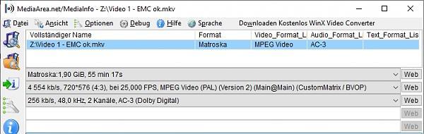 Manche mkv Dateien mit VLC und Kodi ok, mit EMC leider nicht - Ursache rausfinden?-video-1-emc-ok.jpg