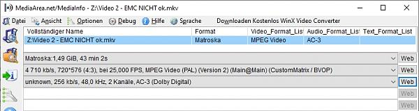 Manche mkv Dateien mit VLC und Kodi ok, mit EMC leider nicht - Ursache rausfinden?-video-2-emc-nicht-ok.jpg