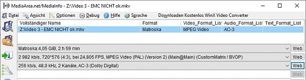 Manche mkv Dateien mit VLC und Kodi ok, mit EMC leider nicht - Ursache rausfinden?-video-3-emc-nicht-ok.jpg