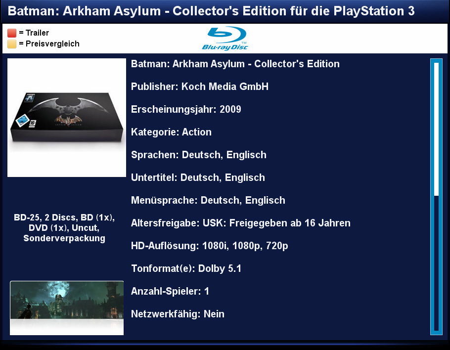 Blu-ray & PS3 Database 1 5rc4